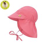 德國Lassig-嬰幼兒抗UV防曬遮頸帽-珊瑚糖