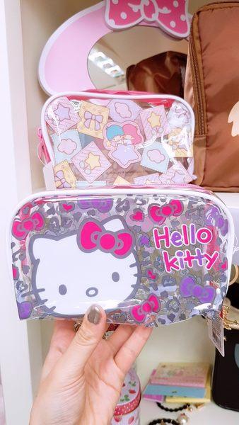 kitty雙子星筆袋化妝包收納包防水雙823883凱969765通販屋
