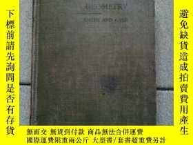 二手書博民逛書店THE罕見ELEMENTS OF ANALYTIC GEOMETRY BY PERCEY F.SMITH.PH.D