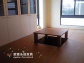 【系統家具】 玻璃書櫃 系統和室收納櫃 中間可昇起桌子可當麻將桌使用