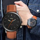 FOSSIL 極簡率性時尚質感腕錶 FS5305 熱賣中!