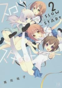 スロウスタート<2>(まんがタイムKRコミックス KIRARA MENU) 日文書