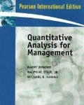 二手書博民逛書店《Quantitative Analysis for Management and Student CD Package》 R2Y ISBN:0137129904