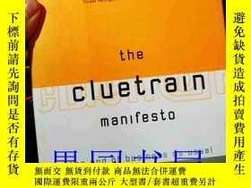 二手書博民逛書店英文原版罕見The Cluetrain Manifesto: t