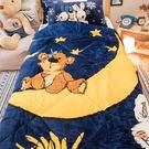 蘇西動物園 - 晚安寶貝 法蘭絨暖暖被 ...