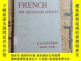 二手書博民逛書店FLUENT罕見FRENCH. FOR SECONDARY SC