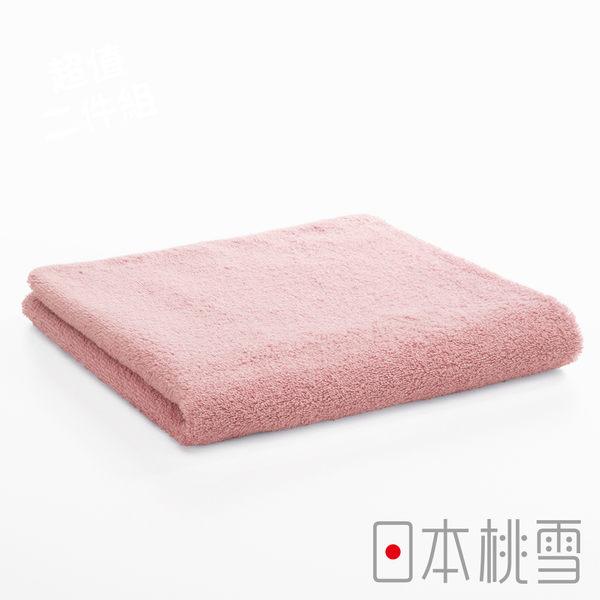 日本桃雪飯店毛巾(桃紅色)