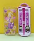 【震撼精品百貨】魔法公主樂佩公主_Rapunzel~迪士尼外出餐具組-樂佩公主#39429