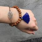 民族風木珠流蘇多層合金手鍊 手環 (4入/組)