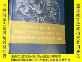 二手書博民逛書店Women's罕見Work in Early Modern En
