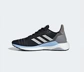 Adidas SOLAR GLIDE 19 SHOES 女款黑藍運動慢跑鞋-NO.G28038