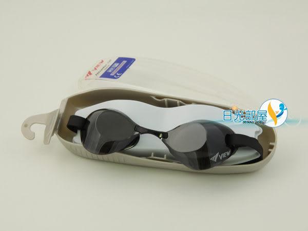 *日光部屋* Tabata View (公司貨)/V120AMR-SKSL 刀鋒系列/競泳/無墊式/鍍鏡面泳鏡(日本知名泳鏡/日本製)