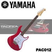 【非凡樂器】YAMAHA山葉 PAC012 Pacifica系列電吉他 / 紅色款 / 贈超值配件包 / 公司貨保固