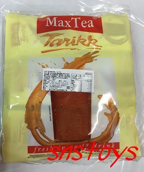 sns 古早味 奶茶 Max Tea 奶茶飲料粉 30包x25公克 產地:印尼