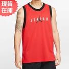 【現貨】Nike Jordan Jumpman 男裝 背心 籃球 慢跑 訓練 排汗 透氣 紅【運動世界】CJ6152-657