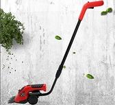 現貨電動割草機充電式除草機多功能剪草剪刀家用小型剪枝機綠籬修枝剪  酷男