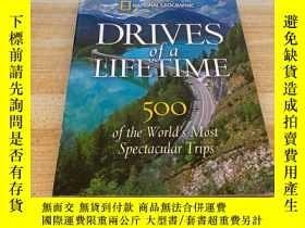 二手書博民逛書店Drives罕見of a Lifetime: 500 of the Worlds Most Spectacular