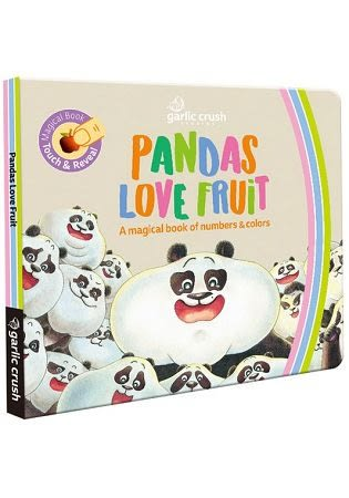 Pandas Love Fruit: A magical numbers and