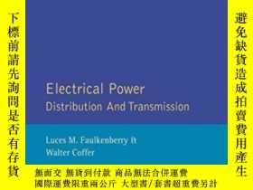 二手書博民逛書店Electrical罕見Power Distribution And Transmission-配電與輸電Y4