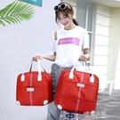 旅行包袋大容量女士行李手提包出差韓版超輕便短途行李 9號潮人館