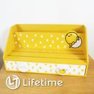 ﹝蛋黃哥平板二抽盒﹞正版 二抽盒 收納盒 置物盒 木櫃 平板 蛋黃哥〖LifeTime一生流行館〗B01242