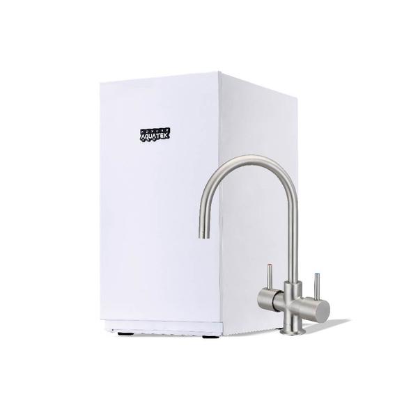 【沛宸AQUATEK】AQ-3212B櫥下型加熱器/飲水機:搭配316不銹鋼雙溫龍頭/可搭配淨水器/免費到府安裝