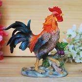 過年年會用品  新款春節雞年創意年會小禮品 招財公雞風水擺件居家裝飾用品 珍妮寶貝