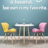 洽談桌北歐風陽臺休閒桌子家用1桌2椅奶茶咖啡小圓桌子簡約洽談桌椅組合 艾家 LX