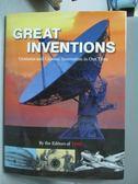 【書寶二手書T3/科學_ZAB】Great Inventions-Geniuses and Gizmos_Editors
