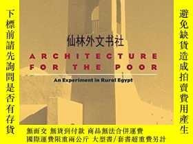 二手書博民逛書店【罕見】2000年出版 Architecture for the Poor: An Experiment in R