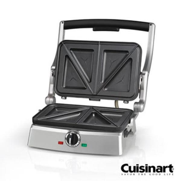 【贈實用刮刀】美膳雅 SM100TW / SM-100TW Cuisinart吐司三明治壓烤機 三明治機