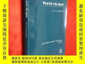 二手書博民逛書店Plato罕見To-day (小16開 ) 【詳見圖 】Y546