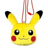 直送Pokemon 寶可夢神奇寶貝皮卡丘鈕扣零錢包斜背包該該貝比  ☆