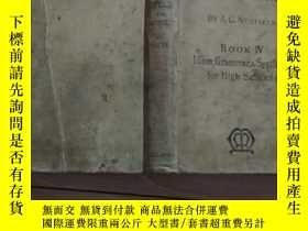二手書博民逛書店英文原版;IDIOM罕見GRAMMAR. SYNTHESIS FOR HIGH SCHOOIS BOOK IV