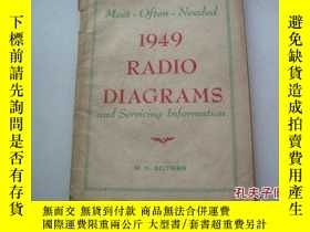 二手書博民逛書店Most-Often-Needed1949罕見Radio Dia