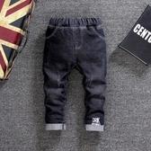 現貨 男童褲子冬季寶寶牛仔褲加厚兒童棉褲【雲木雜貨】