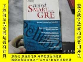 二手書博民逛書店Word罕見SMART for the GRE 2nd Edit
