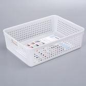 日本製【inomata】4583 B5可標記收納籃 .整理籃 1入/ 霧白色