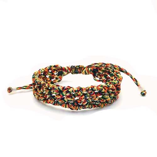 開運五色線幸運手環 1.5cm