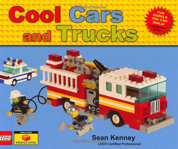 【麥克書店】COOL CARS AND TRUCKS /英文繪本