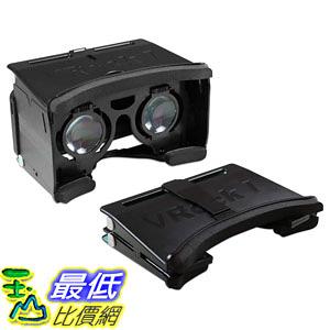 [107美國直購] Archgon Portable VR Virtual Reality 3D Game Movie Glasses Headset(黑白兩色可選) _s14