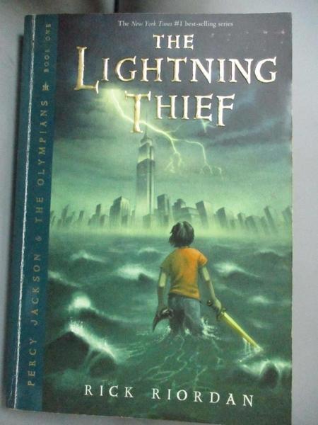 【書寶二手書T4/原文小說_OET】The Lightning Thief_Riordan