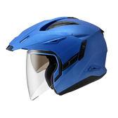 ZEUS瑞獅安全帽,ZS-613A,素色/消光銀藍