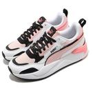 Puma 休閒鞋 X-Ray 2 Square Pack 白 粉紅 女鞋 老爹鞋 復古慢跑鞋【ACS】 37412104