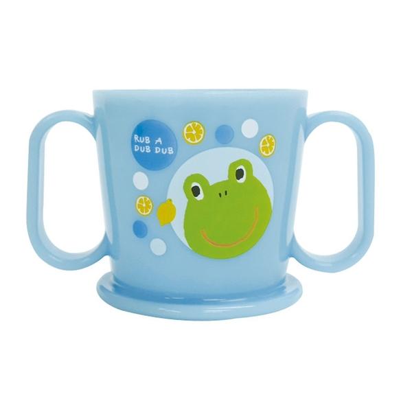 【日本製】【Rub a dub dub】幼童用 學習水杯 青蛙圖案 SD-9148 - Rubadubdub