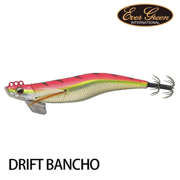 漁拓釣具 EVERGREEN DRIFT BANCHO 番長 3.5 [木蝦]