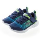 SKECHERS GO RUN 600 藍綠 魔鬼氈 運動鞋 小童鞋 NO.R4711
