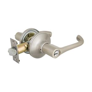加安牌 水平房門鎖(自動解閂)不鏽鋼磨砂色 TLYP607