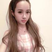 露出美額/髮箍式-自然系浪漫微捲長髮【MW007】☆雙兒網☆