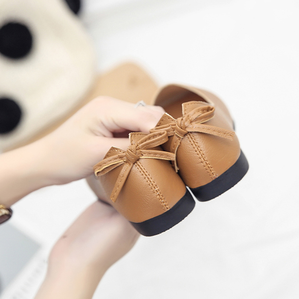 韓版奶奶鞋 春季單鞋女2019百搭淺口方頭工作鞋豆豆舒適休閒平底鞋